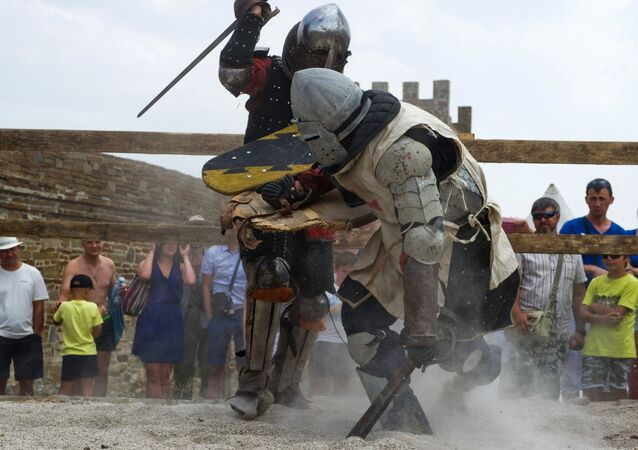 Let's Get Medieval! A Look at Historic 'Genoa Helmet' Knight Festival in Crimea