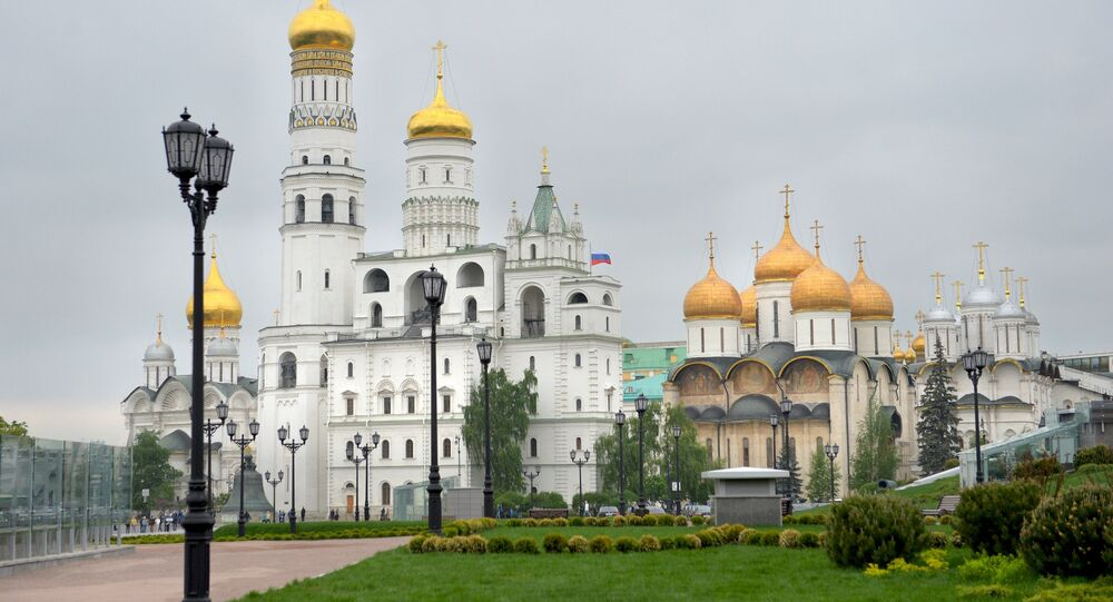 A new park is opened on the premises of the Moscow Kremlin on the site of former Building 14.