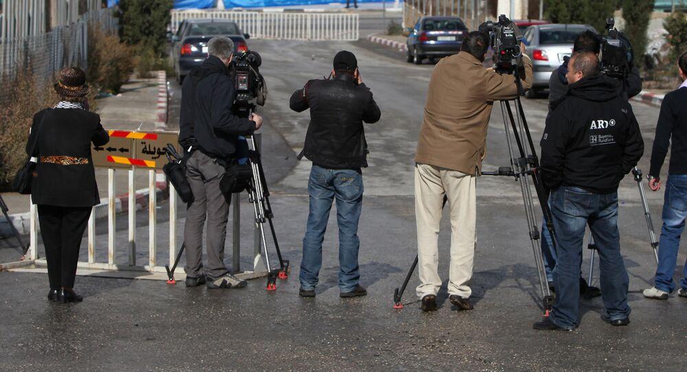 Journalists. (File)