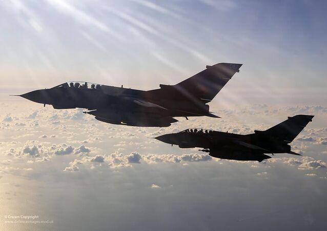UK Tornado fighter jets. (File)