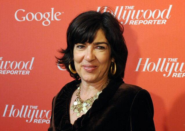 Christiane Amanpour arrives at a red carpet event hosted by Google and the Hollywood Reporter, on the eve of the annual White House Correspondents' Association dinner in Washington. (File)