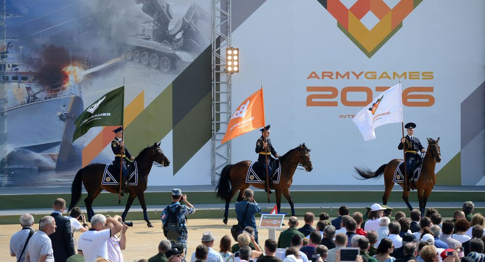 International Army Games 2016 kick off