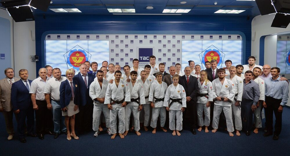 Presentation of the Russian Olympic Judo Team in Rio