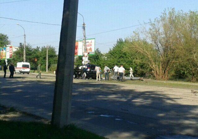 Explosion in Lugansk