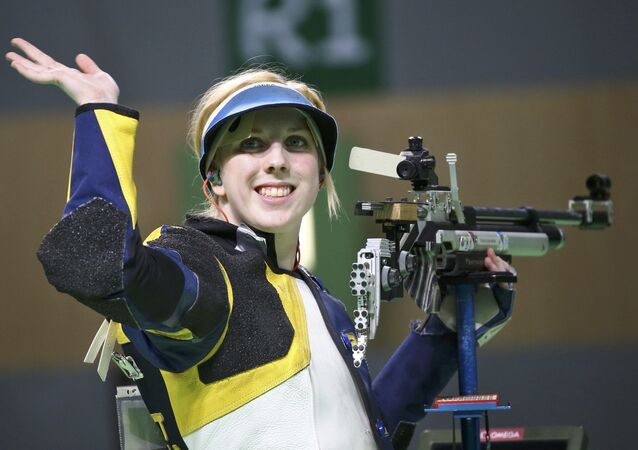 016 Rio Olympics - Shooting - Final - Women's 10m Air Rifle Finals - Olympic Shooting Centre - Rio de Janeiro, Brazil - 06/08/2016