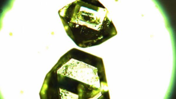 Individual crystals of synthetic zhemchuzhnikovite - Sputnik International