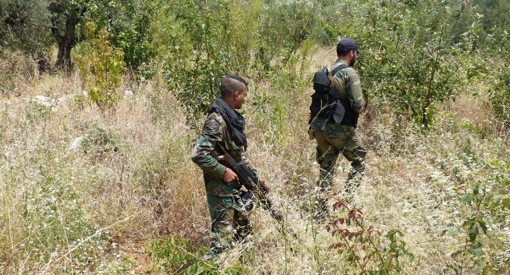 Government forces in the Syrian province of Latakia