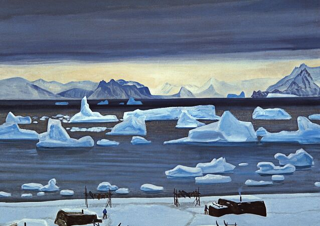 Rockwell Kent (1882-1971). Early November: North Greenland