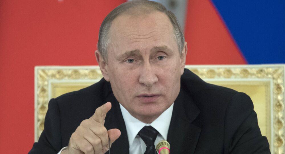 Meeting of Russian President Vladimir Putin and Turkish President Recep Tayyip Erdogan in St Petersburg