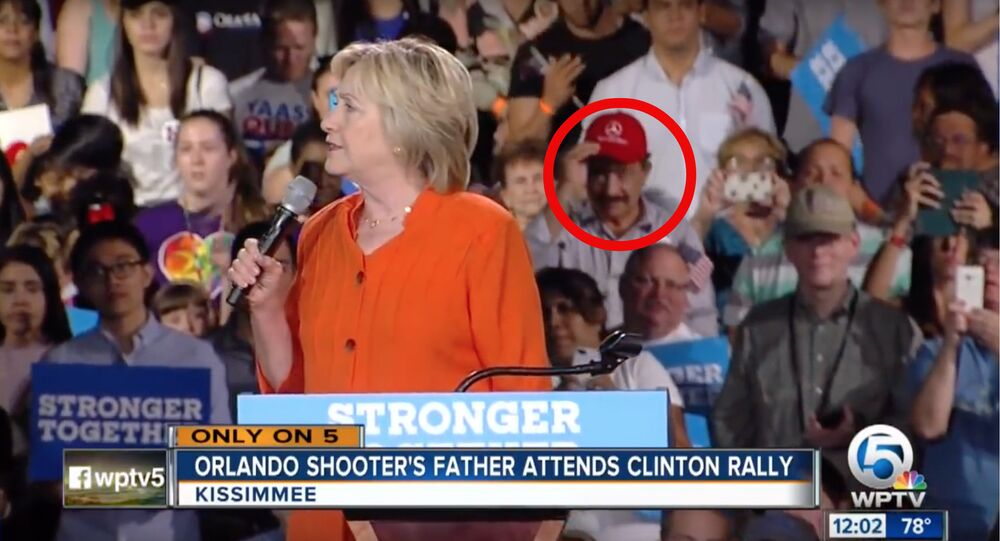 Orlando Nightclub Shooter's Father Appears at Hillary Clinton Rally