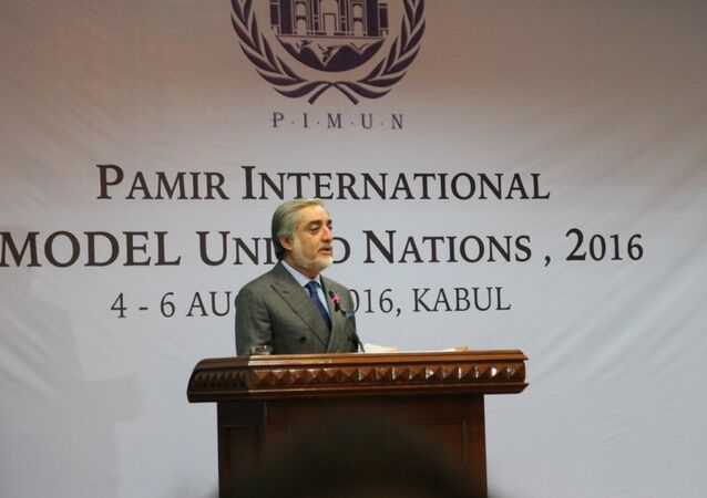 Abdullah Abdullah, Chief Executive of the Islamic Republic of Afghanistan