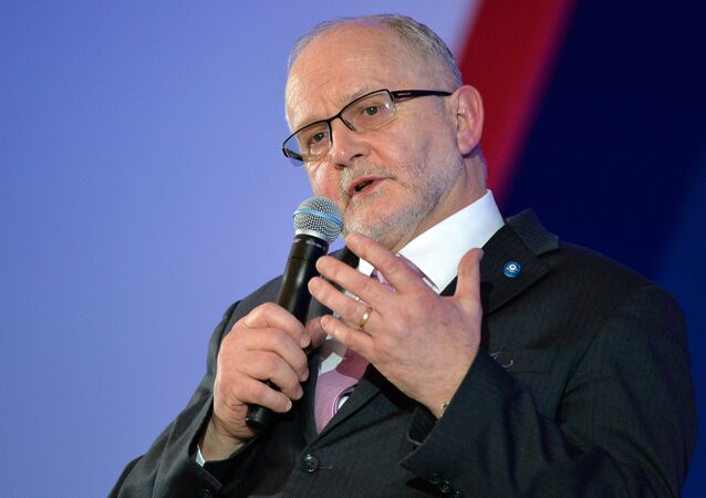 President of the International Paralympic Committee Sir Philip Craven. (File)