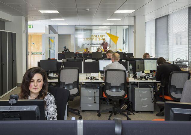 Sputnik News Agency in Edinburgh
