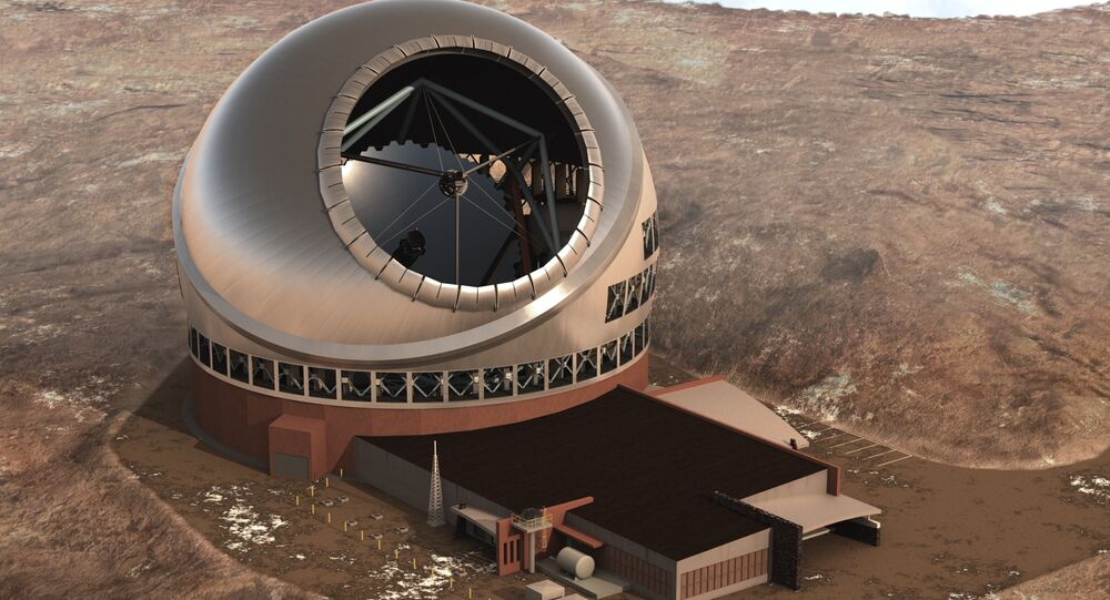 Computer rendering of the Thirty Meter Telescope