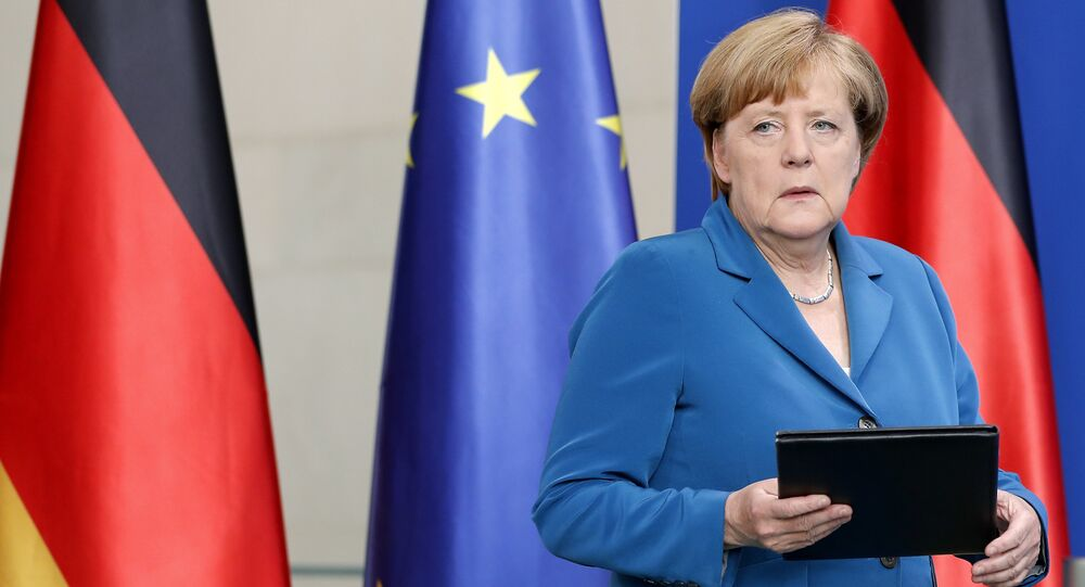 German Chancellor Angela Merkel (File)