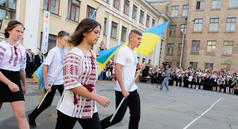 School year begins in Ukraine