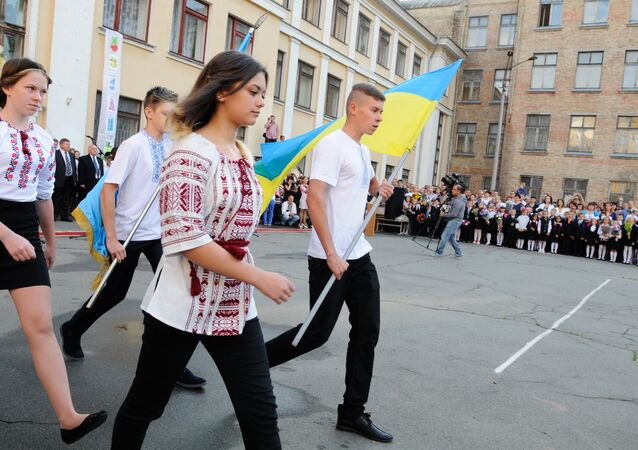 School year begins in Ukraine
