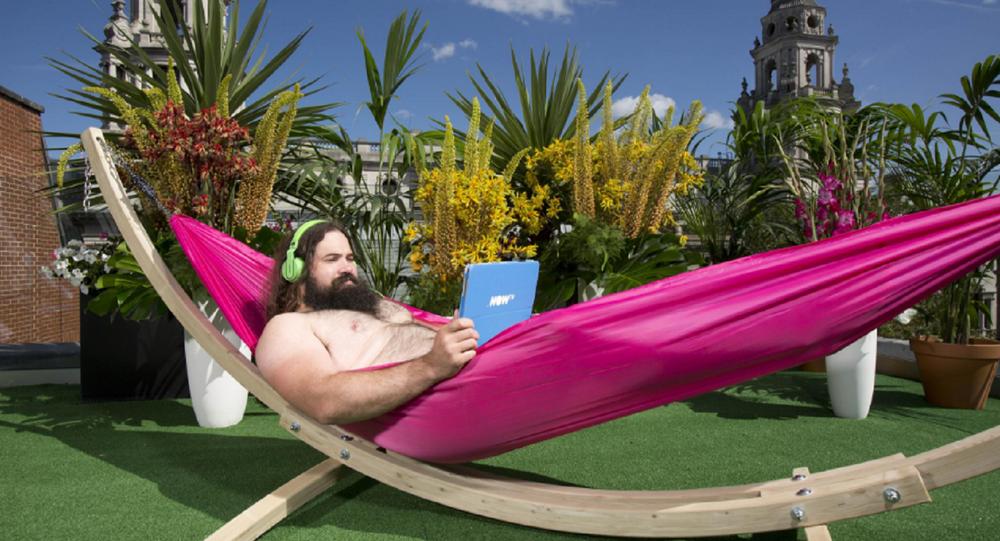 In the Buff: London's First Nudist Bar Terrace Opens