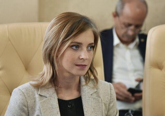 Prosecutor of the Republic of Crimea Natalya Poklonskaya