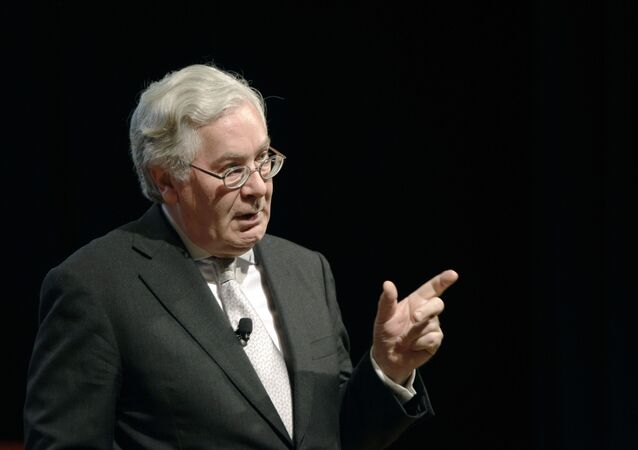 Former Governor of the Bank of England Lord Mervyn King (File)