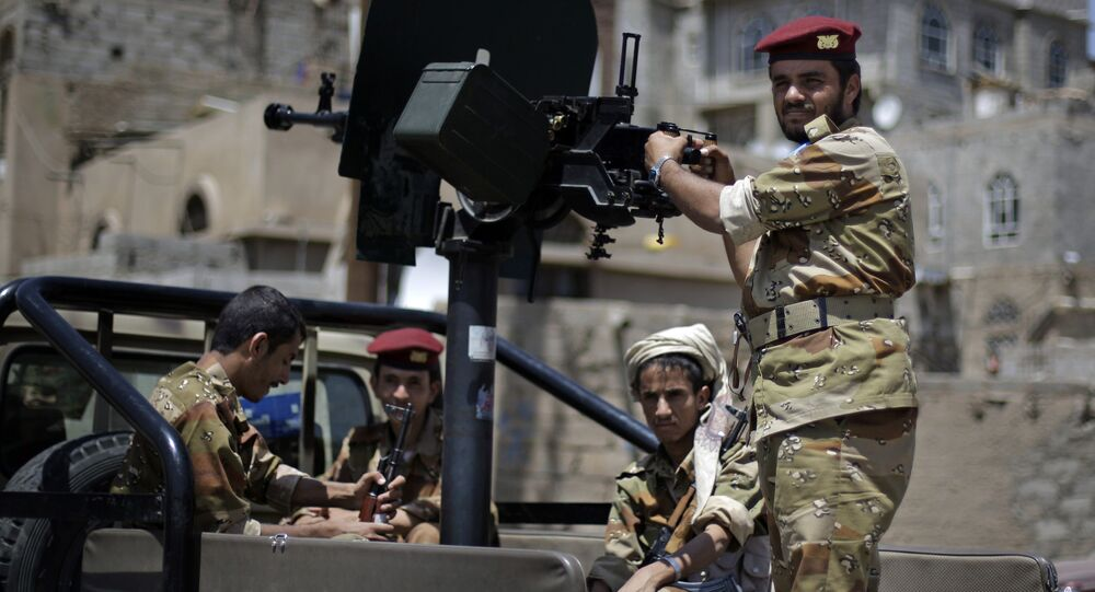 Yemeni army soldier (File)