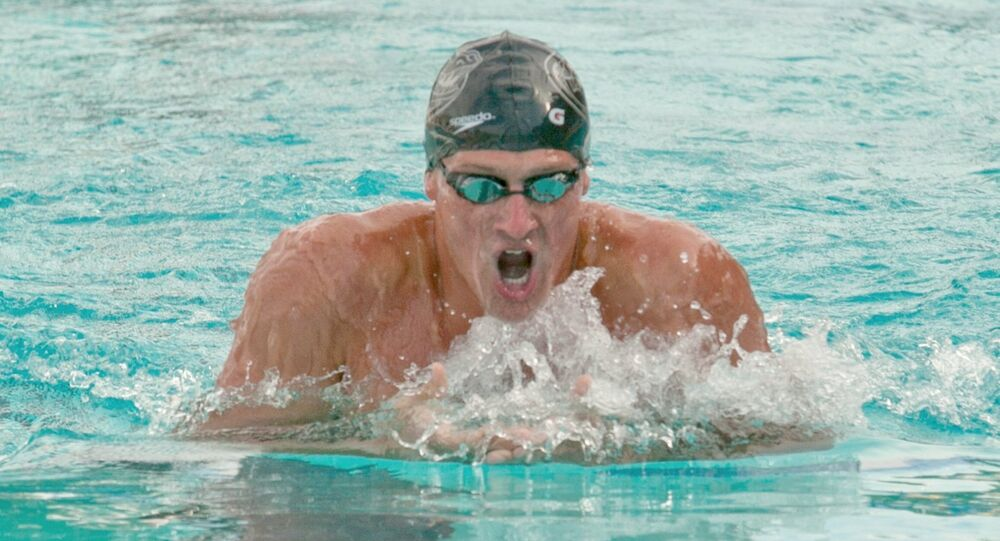 US Olympic Swimmer Ryan Lochte
