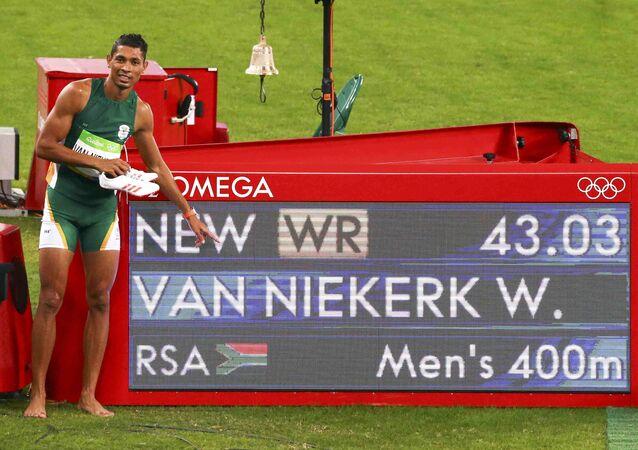 2016 Rio Olympics - Athletics - Final - Men's 400m Final - Olympic Stadium - Rio de Janeiro, Brazil - 14/08/2016.