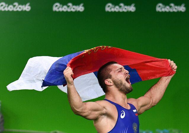 2016 Olympics Greco-Roman wrestling. Second day