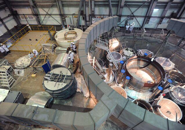 Construction of new power unit at Beloyarskaya NPP