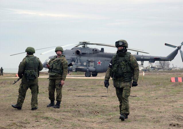 Black Sea Fleet takes part exercise