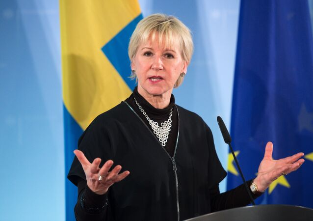 Swedish foreign minister Margot Wallstrom