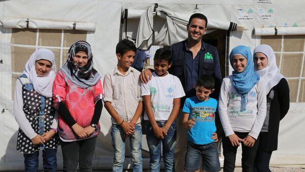 Syrian children in Lebanon - Sputnik International