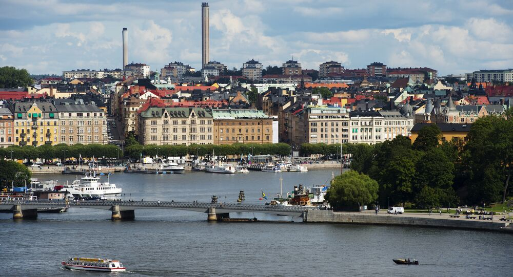 A view of buildings in Stockholm's Oestermalm
