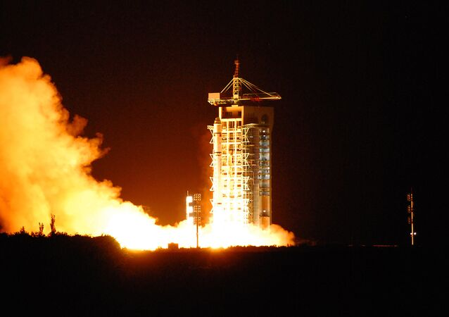 China's quantum satellite - nicknamed Micius after a 5th century BC Chinese scientist - blasts off from the Jiuquan satellite launch centre in China's northwest Gansu province on August 16, 2016