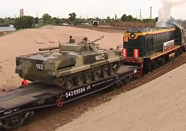 Armored Train Drills Resume in Russia For First Time in 15 Years