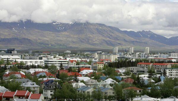 View across Reykjavík in Iceland from Öskjuhlíd Hill - Sputnik International