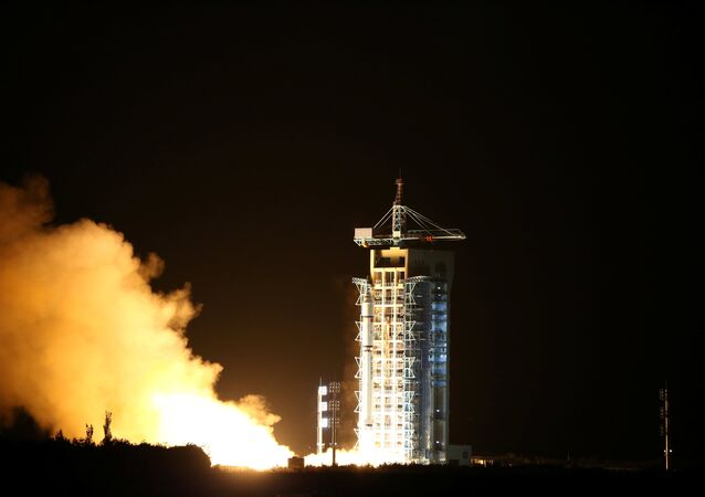 World's first quantum satellite is launched in Jiuquan, Gansu Province, China