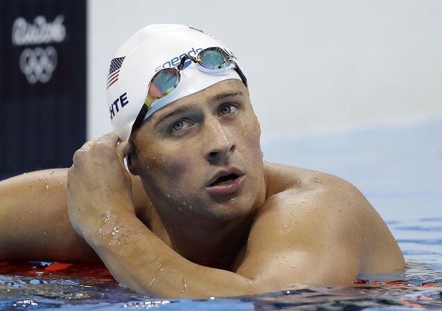 Story Sinks: US Swimmer Lochte Lied About Robbery to Hide 'Drunken' Vandalism