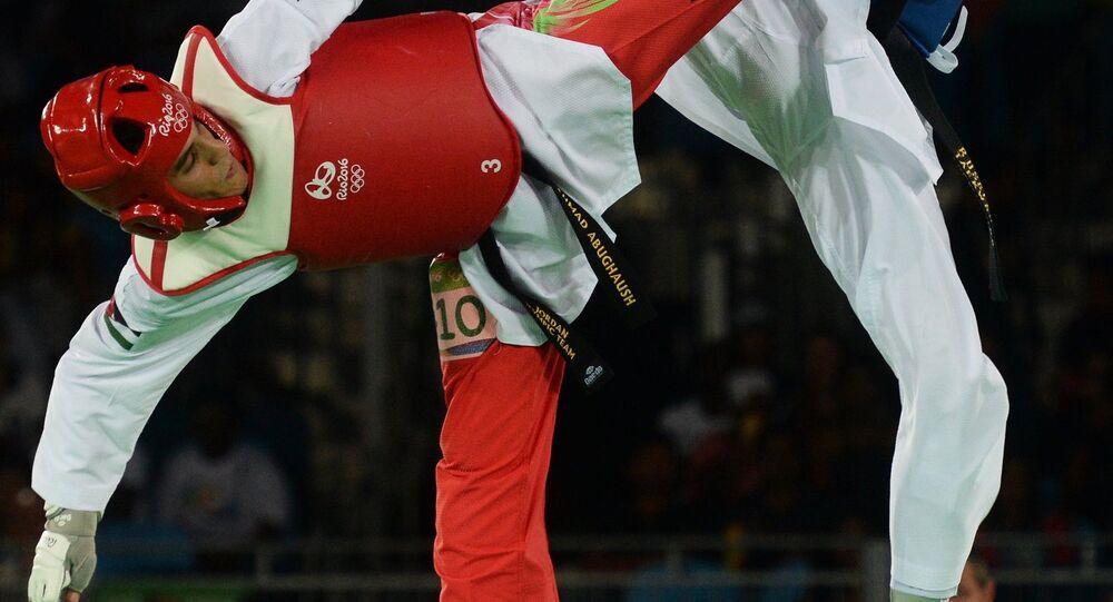 2016 Olympics. Taekwondo. Second day