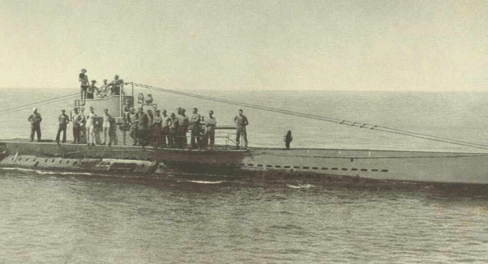 SM U-38 of the german imperial navy,