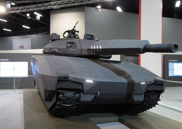 Concept PL-01 Tank
