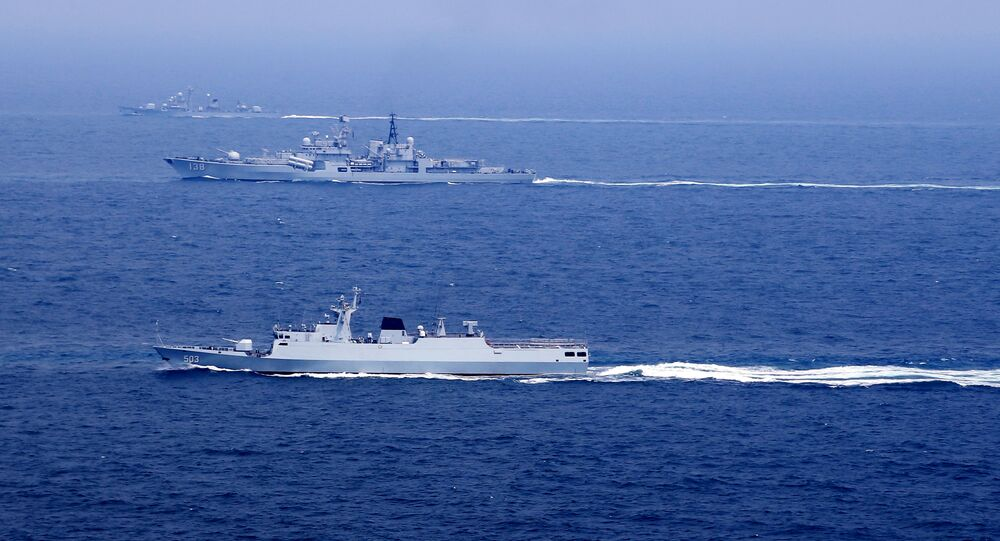 Chinese naval vessels