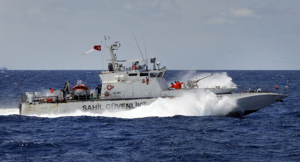 Turkish Coast Guard vessel