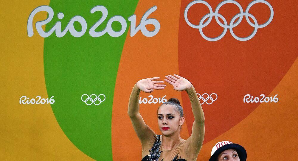 2016 Olympics. Rhythmic Gymnastics. Individual competition