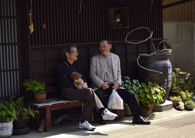 Elderly people in Japan