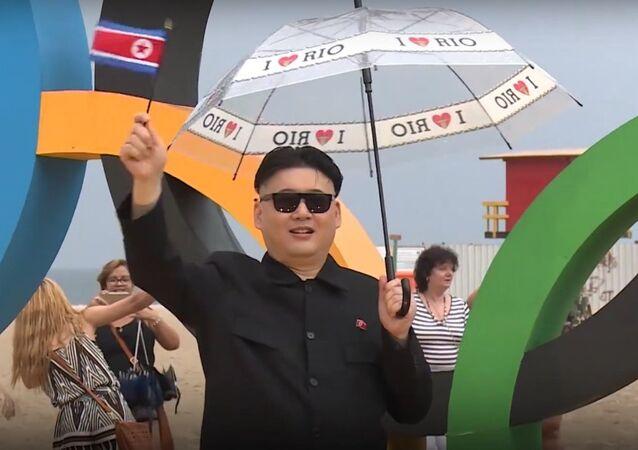 Kim Jong Un Shows Up At Rio Olympics