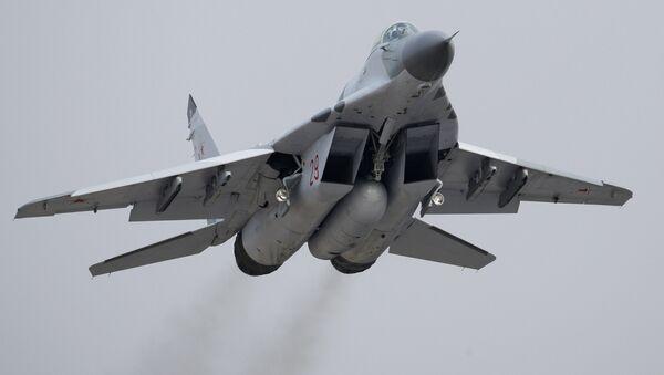 Mikoyan MiG-29 jet fighter aircraft - Sputnik International