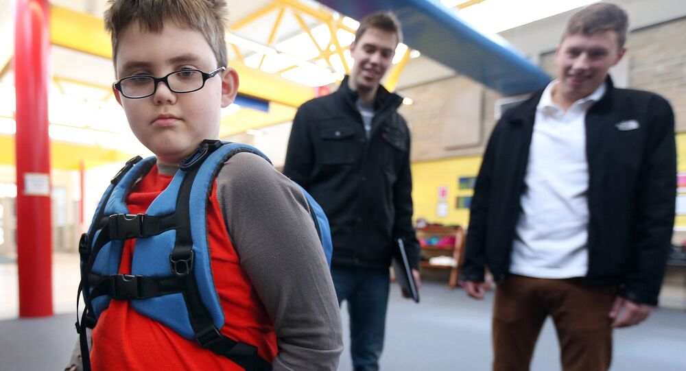 World's first backpack for kids with sensory perception needs