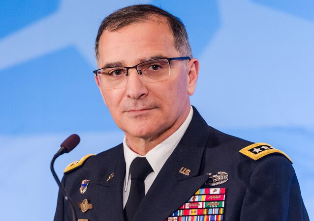 US Army General Curtis M. Scaparrotti