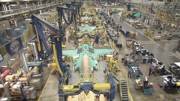 Production of the US's F-35, which analysts have criticized for being behind schedule and overpriced. - Sputnik International